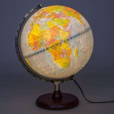Navigator II Illuminated 12 in. Desktop Globe