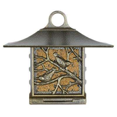 Nuthatch Artisan French Bronze Suet Bird Feeder