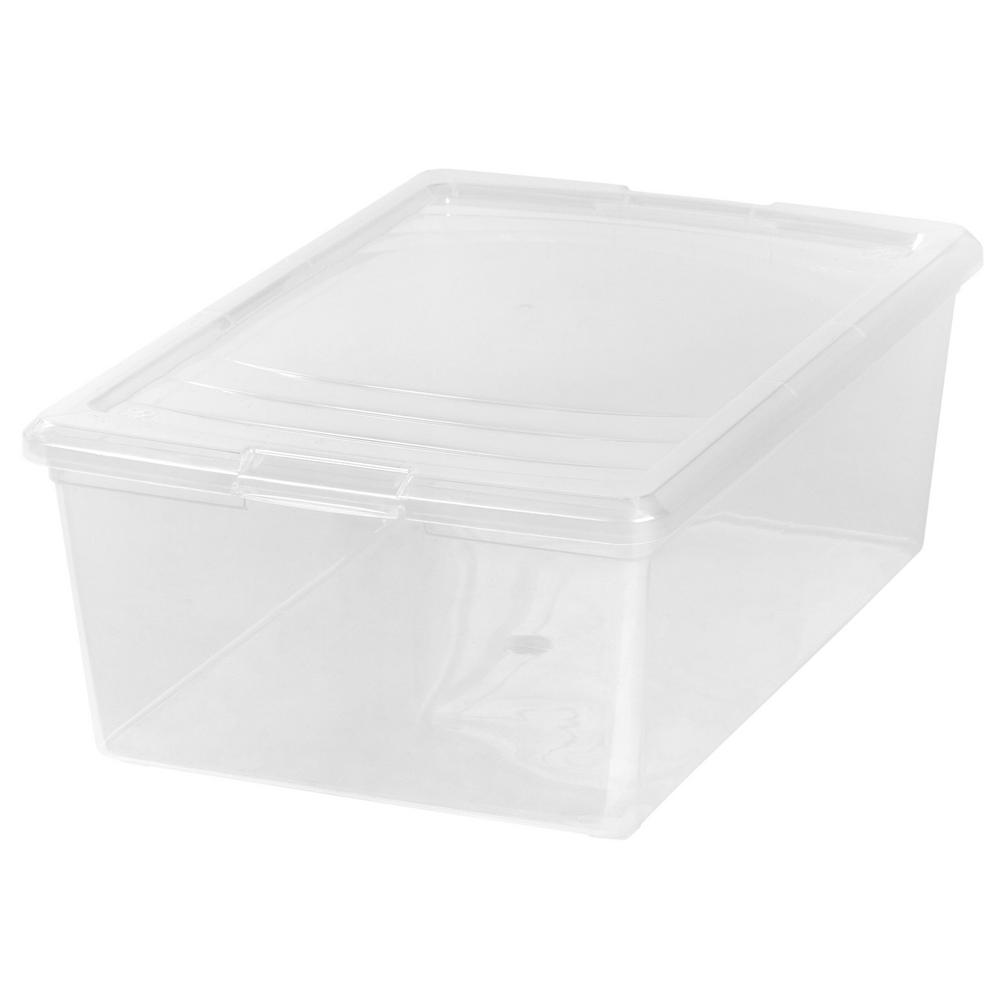 13.5 qt. Modular Storage Box in Clear