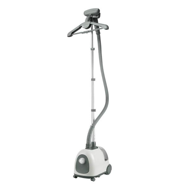 Classic Garment Steamer For Home with an Adjustable Hanger 1.5 l Water Tank Advanced Cool-Touch Hose in White