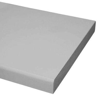 1in. x 4 in. x 8 ft. Primed MDF Board