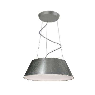 Cielo 24-Light Silver Leaf Hanging Pendant
