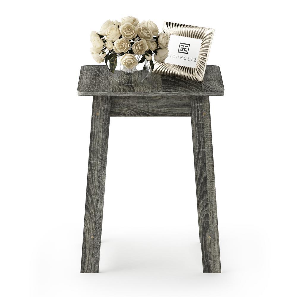 Beginning French Oak Grey End Table