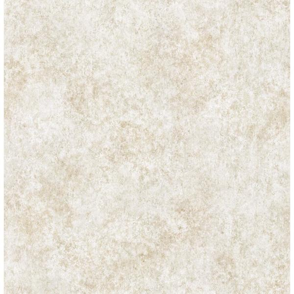 Brewster 8 in. x 10 in. Ambra Cream Stylized Texture Wallpaper