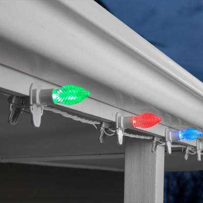 20-Light ColorMotion ClipLights C9 (Multi) Light String