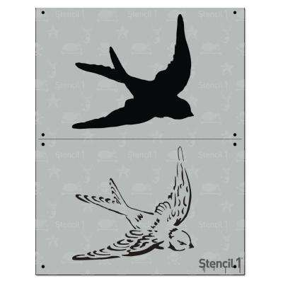 Swallow 2 Layer Stencil