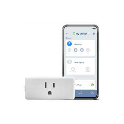 Decora Smart Wi-Fi Mini Plug-In Single Outlet No Hub Required, Works with Alexa, Google Assistant & Nest, White (2-Pack)