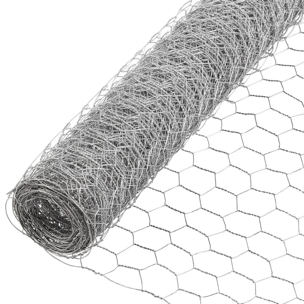 Everbilt 1 In X 4 Ft X 150 Ft Galvanized Poultry Netting