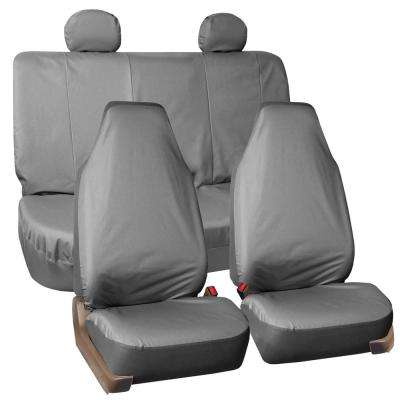 Waterproof Oxford 47 in x 23 in. x 1 in. Rugged Full Set Seat Covers