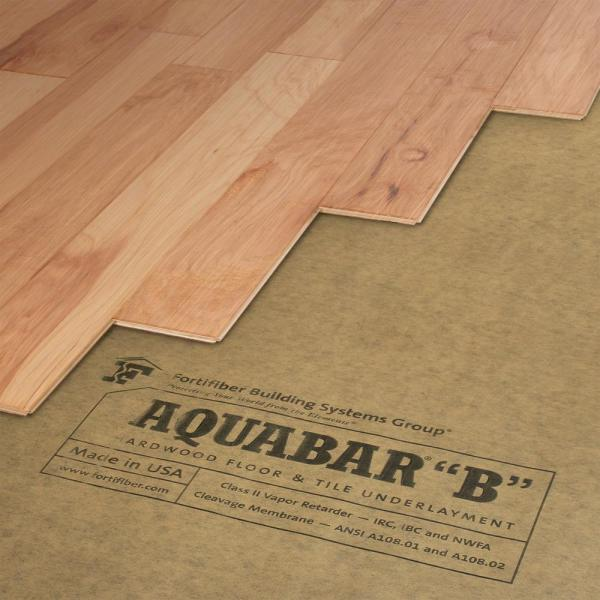 Fortifiber 500 Sq Ft 36 In Wide X, Underlayment For Laminate Flooring On Concrete Home Depot