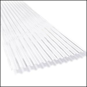 6 ft. SunSky 2.67 LP Polycarbonate Roof Panel in Clear