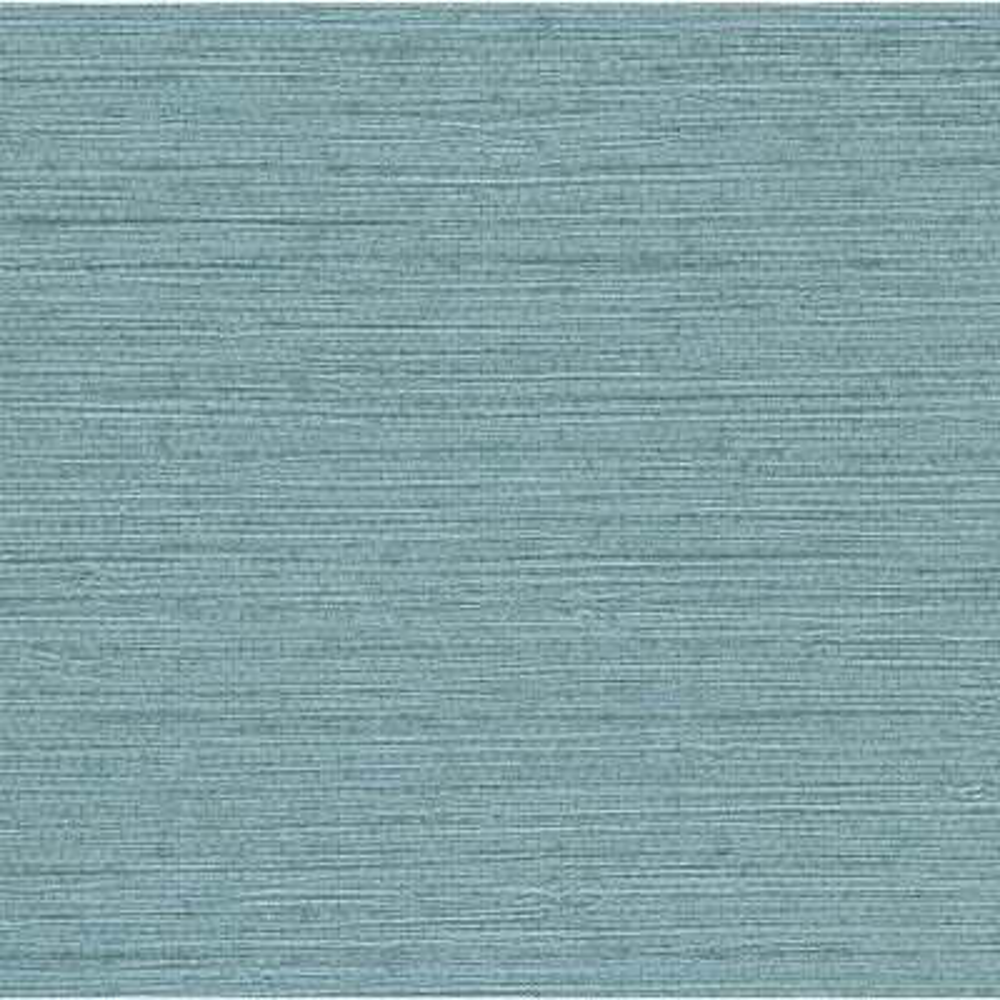 60.8 sq. ft. Bali Blue Seagrass Wallpaper