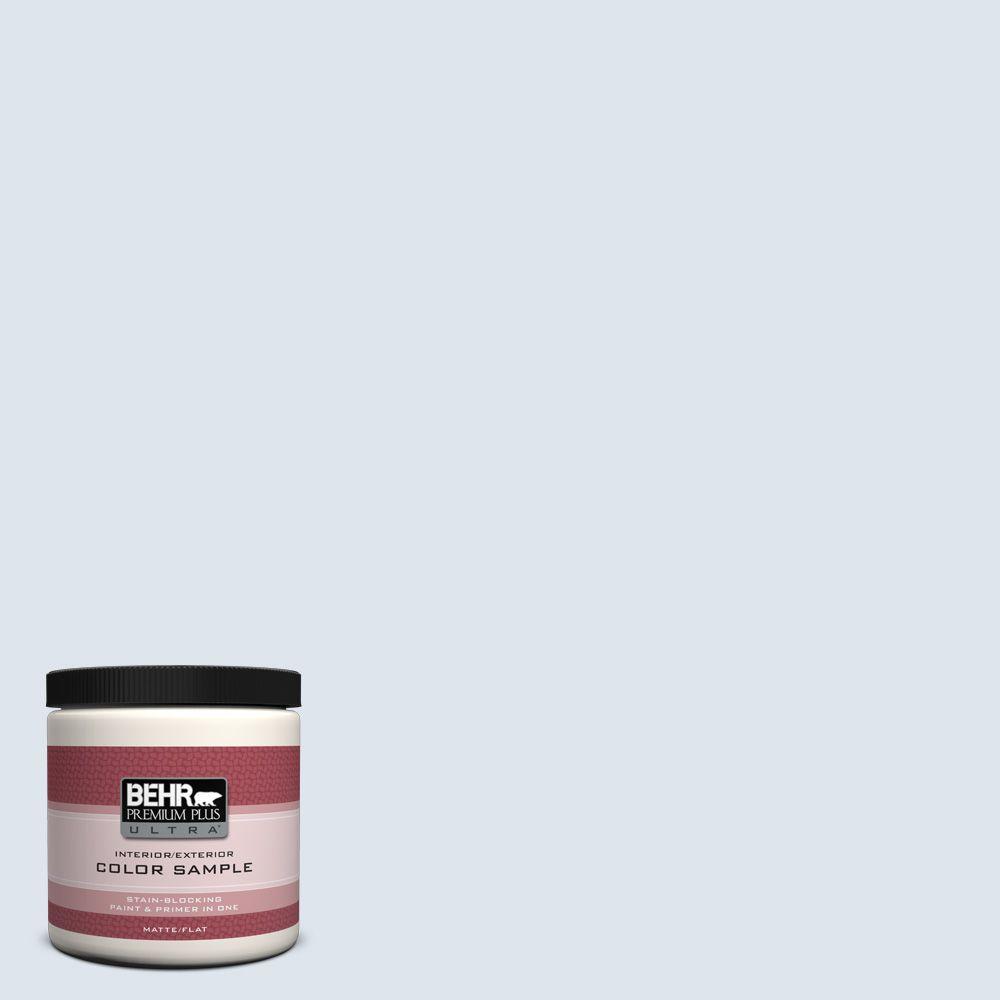 BEHR Premium Plus Ultra 8 oz. #570E-1 Glass Bead Interior/Exterior Paint Sample