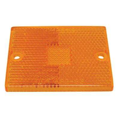 Clearance/Side Marker Replacement Lens in Amber