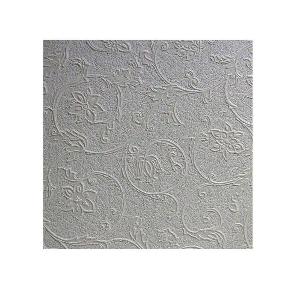 57.5 sq. ft. Heaton Paintable Textured Vinyl Wallpaper