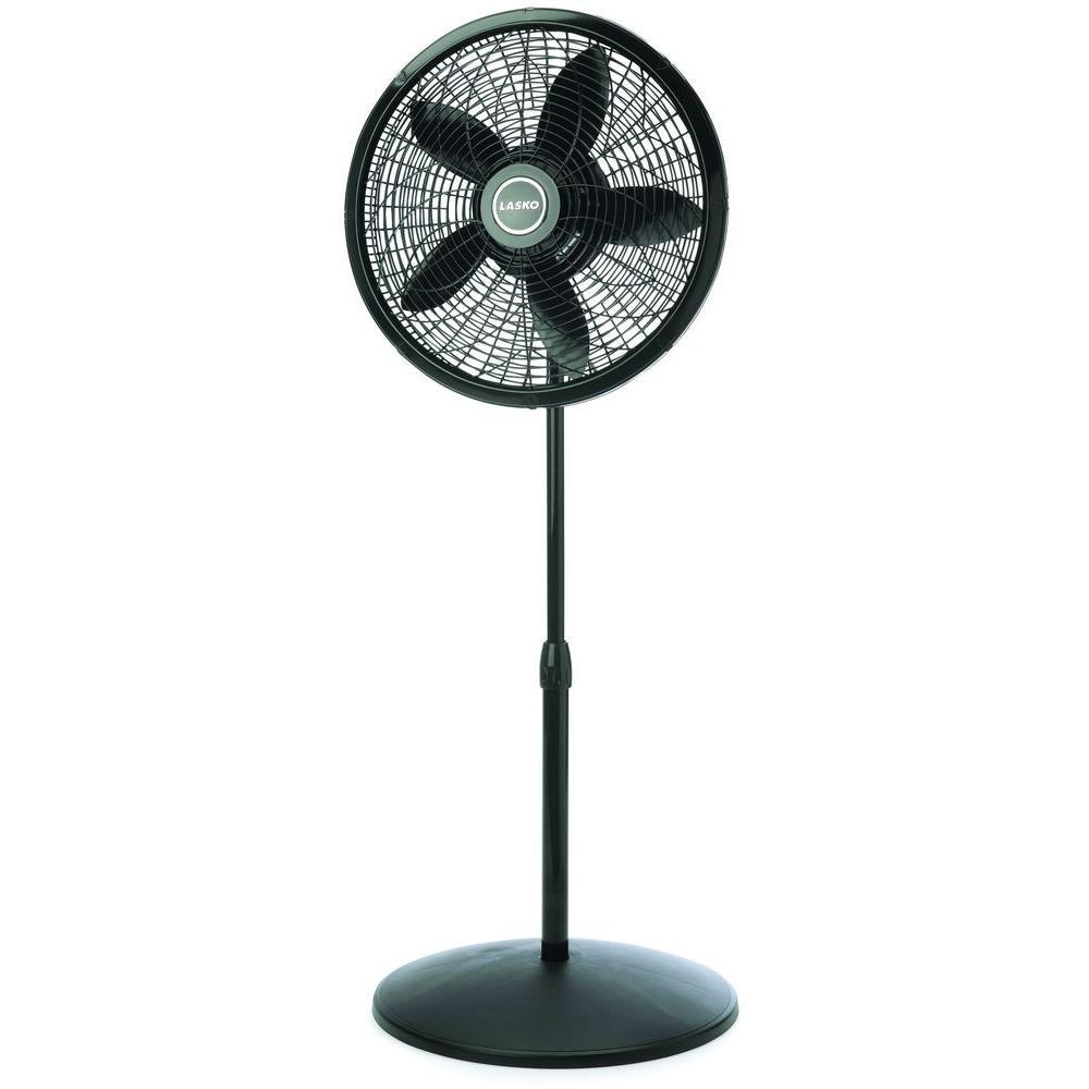 Lasko 18 in. Adjustable Elegance and Performance Pedestal Fan