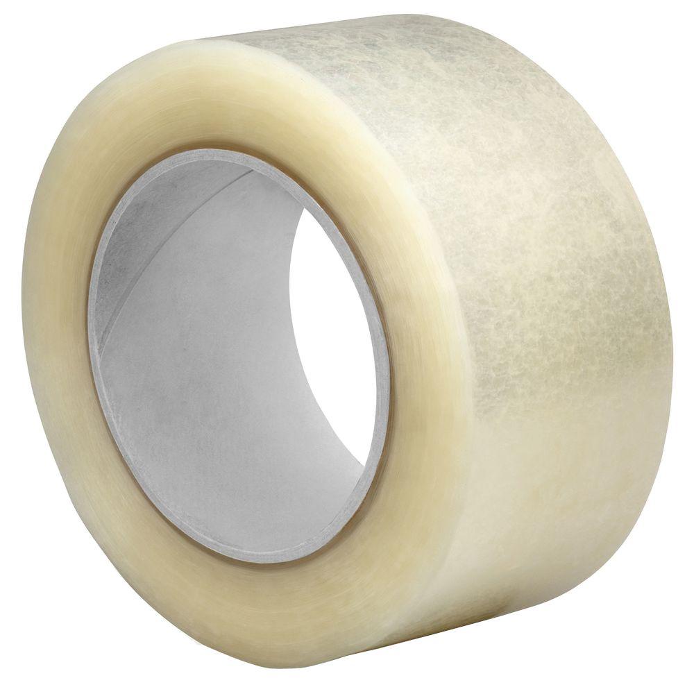 2.5 mm Hot-Melt Sealing Tape 3 in. x 55 yds. Clear (24-Carton)