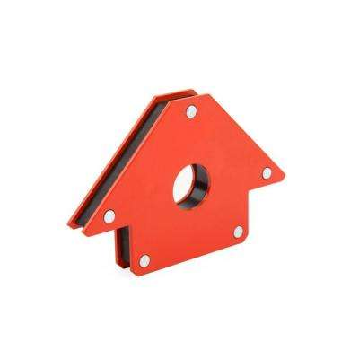 5 in. x 8 in. Red Steel Magnetic Holder