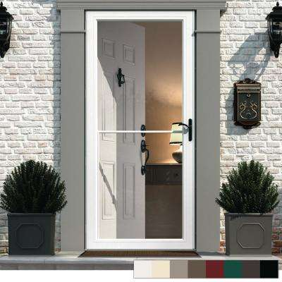 Right Hand Outswing Storm Doors Exterior Doors The Home Depot