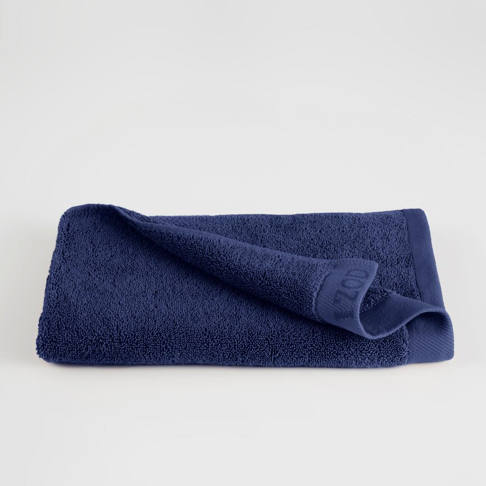 Classic Egyptian Cotton Hand Towel in Dress Blue