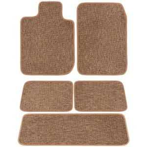 GGBAILEY D51490-S1A-GY-LP Custom Fit Car Mats for 2017 Ford Fusion Grey Loop Driver Passenger /& Rear Floor