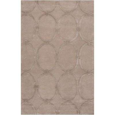 Carlota Taupe Beige 9 ft. x 13 ft. Area Rug