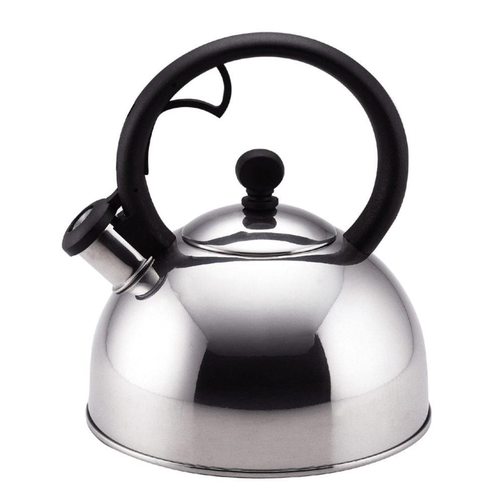 Farberware Classic Series 10-Cup Stovetop Tea Kettle in Silver