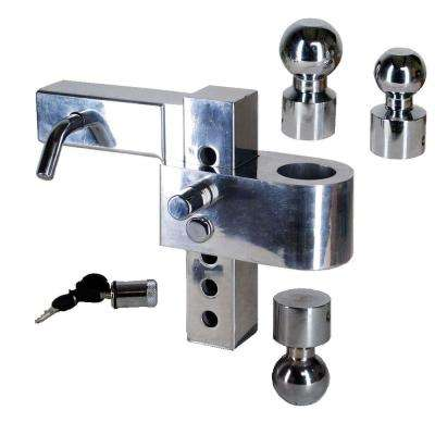 Class V Adjustable, aluminum alloy ball-mount with (3) hitchballs