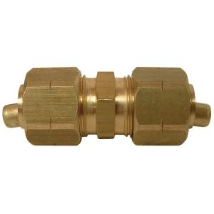 Everbilt 1/4 inch O.D. Lead-Free Brass Compression Coupling by Everbilt