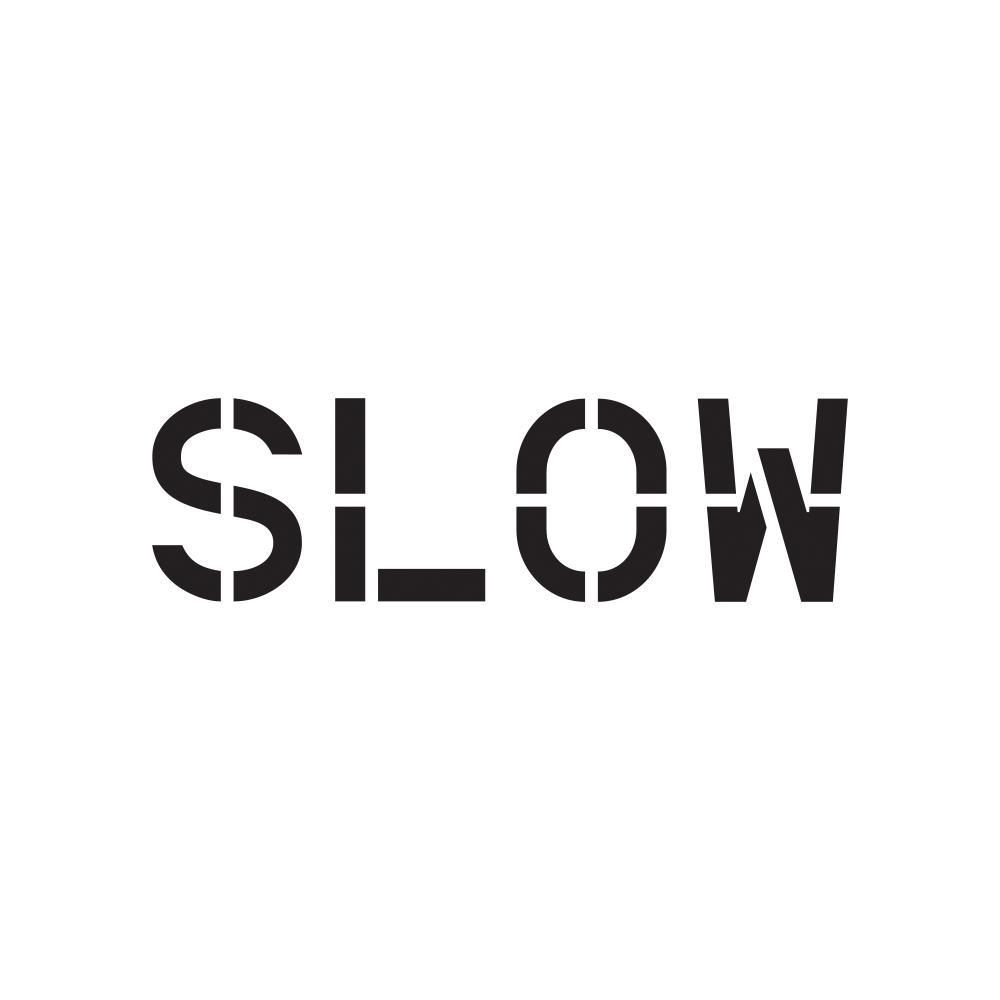 18 in. Slow Stencil