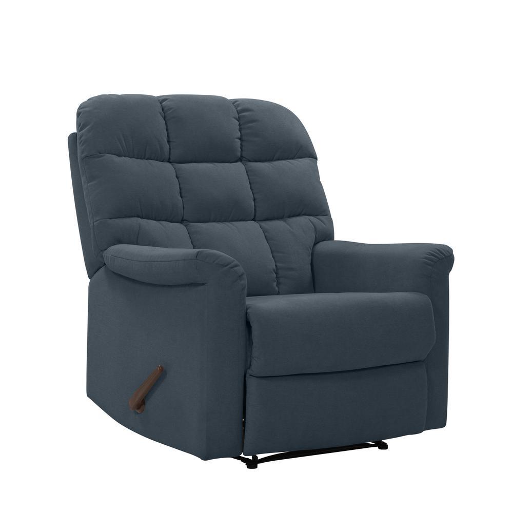 Phenomenal Prolounger Caribbean Blue Plush Low Pile Velvet Tufted Back Ibusinesslaw Wood Chair Design Ideas Ibusinesslaworg
