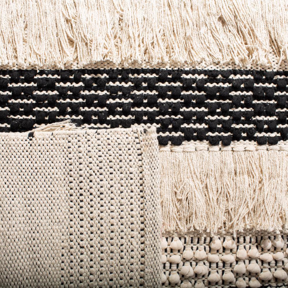 Safavieh Natura Ivory Black 2 Ft X 8 Ft Runner Rug Nat655a 28 The Home Depot