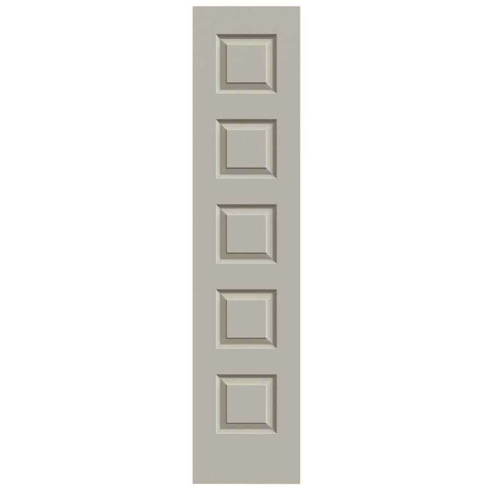JELD WEN 20 In. X 80 In. Rockport Desert Sand Painted Smooth Molded