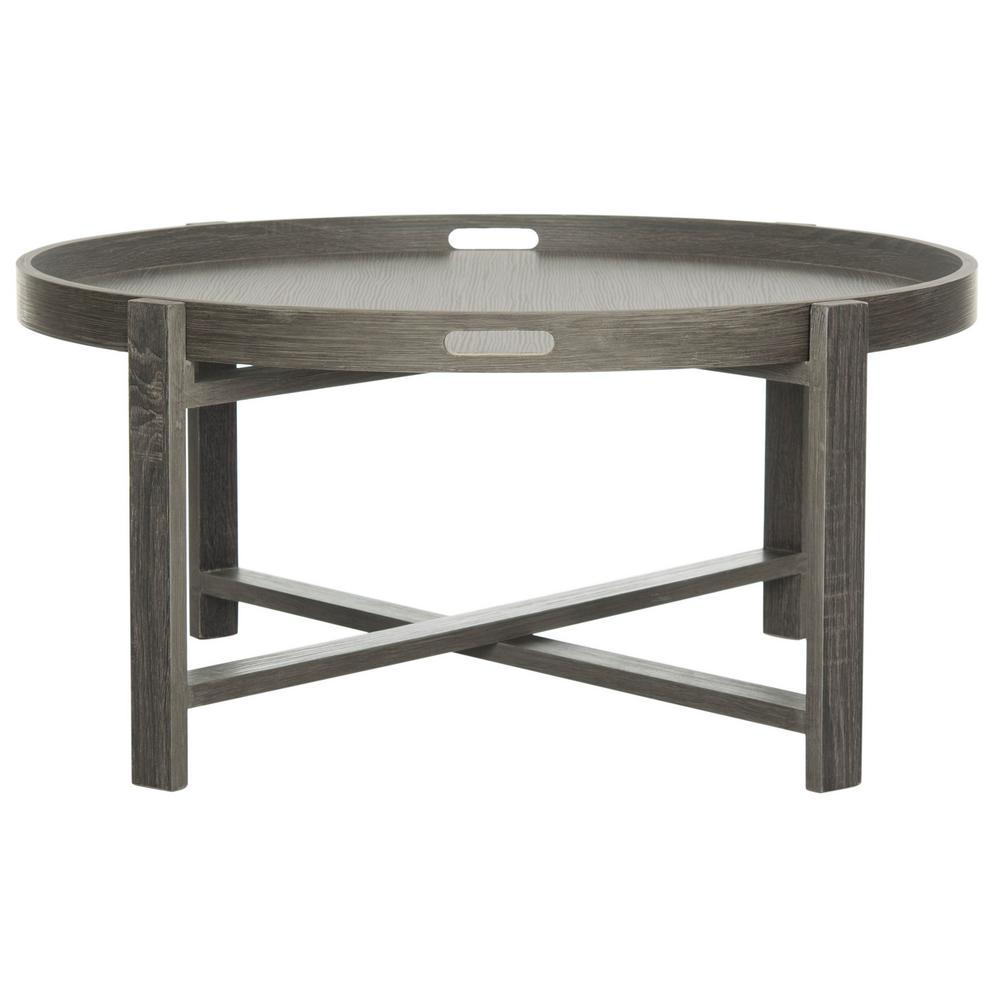 Cursten Dark Gray Coffee Table