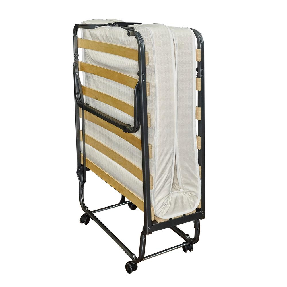 Luxor Folding Bed With Memory Foam 352std 01 As Ups The Home Depot