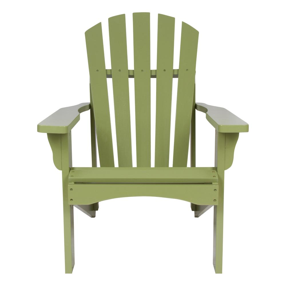 Rockport Cedar Wood Adirondack Chair - Leap Frog