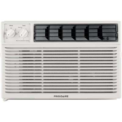 10,000 BTU Window-Mounted Room Air Conditioner in White