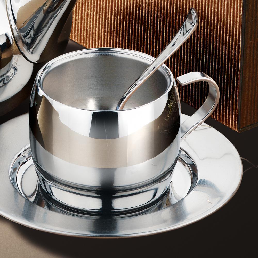 Gourmet 3-Piece 2 oz. Espresso Set in Stainless Steel