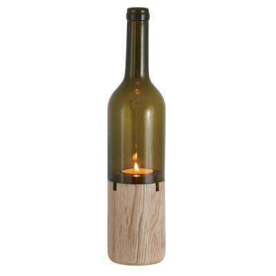 Siena Tealight Brown Bottle Holder