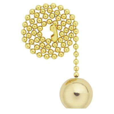 Solid Brass Ball Pull Chain