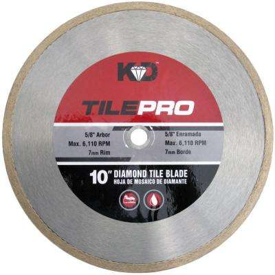 10 in. Diamond Tile Circular Saw Blade