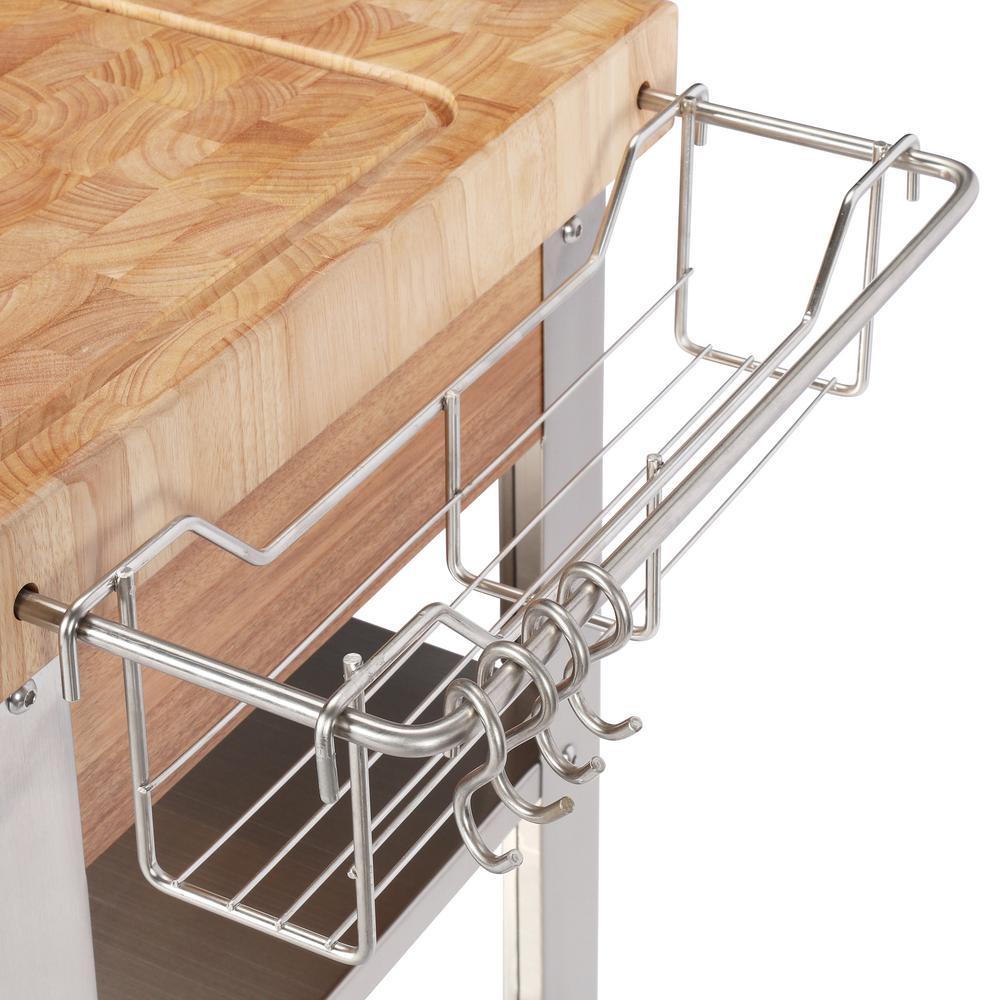 Internet #205930981. +9. Chris U0026 Chris Pro Stadium Stainless Steel Kitchen  Cart ...