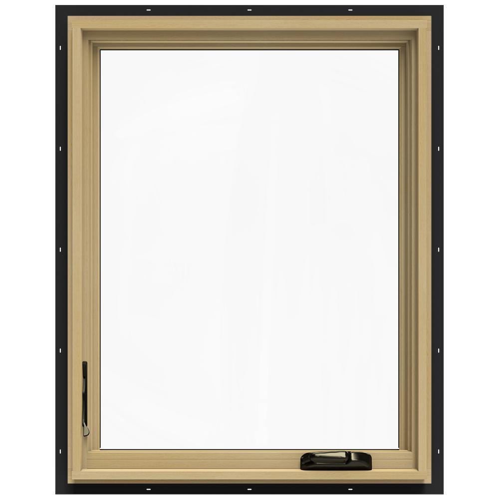 24-3/4 in. x 36-3/4 in. W-2500 Left-Hand Casement Wood Window