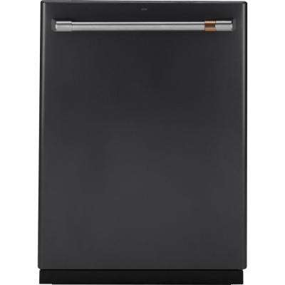 24 in. Top Control Dishwasher in Matte Black with Stainless Steel Tall Tub, Steam Prewash, Fingerprint Resistant, 45 dBA