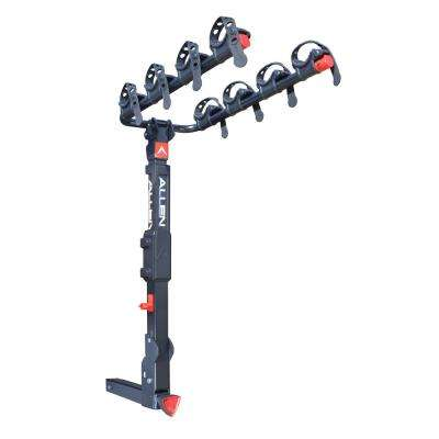 140 lbs. Capacity Locking 4-Bike Vehicle 2 in. Hitch Premier Bike Rack