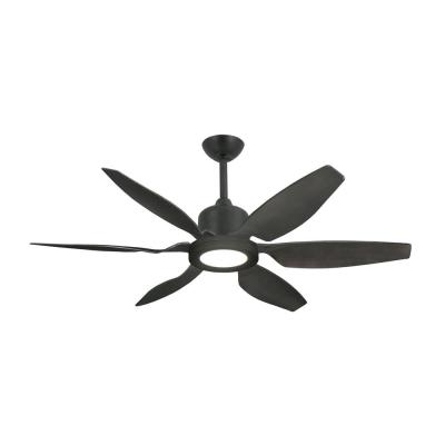 Titan II 52 in. Resin Blades LED Indoor/Outdoor Oil Rubbed Bronze Ceiling Fan with Light with Remote Control