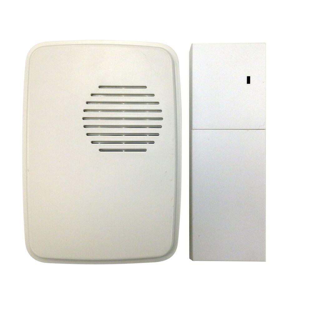Hampton Bay Wireless Door Bell Extender Kit-HB-7902-02 - The Home Depot