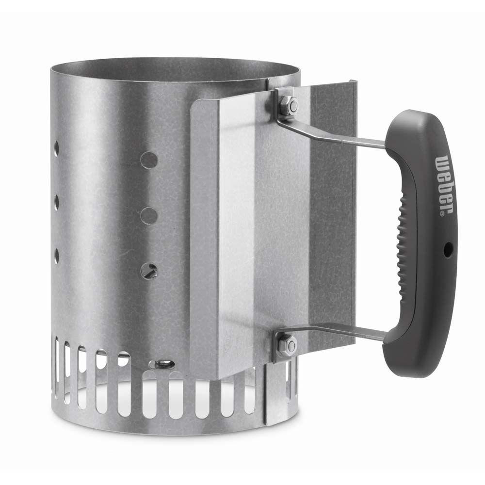 Bbq Starter Weber.Weber Compact Rapidfire Chimney Starter