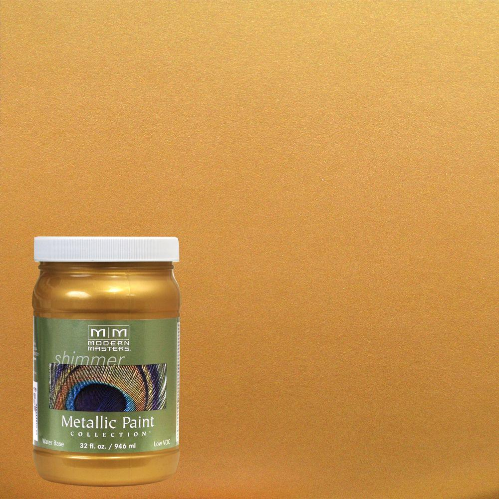 1 qt. Olympic Gold Metallic Interior/Exterior Paint