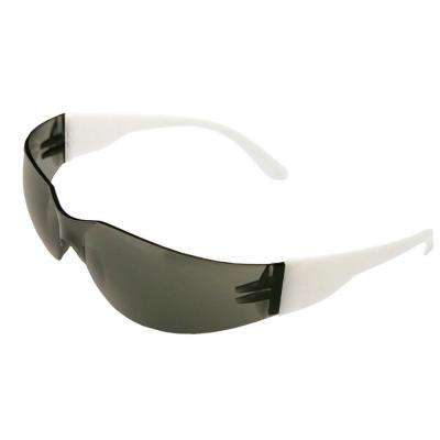 Lucy Ladies Eye Protection, White Frame/Gray Anti-Fog Lens